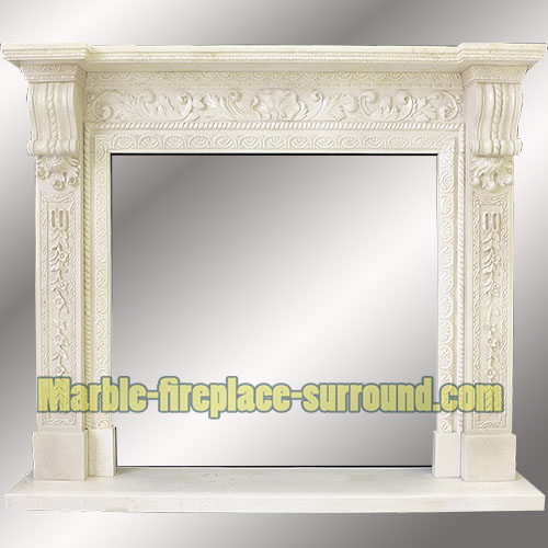 on sale marble fireplace surrounds