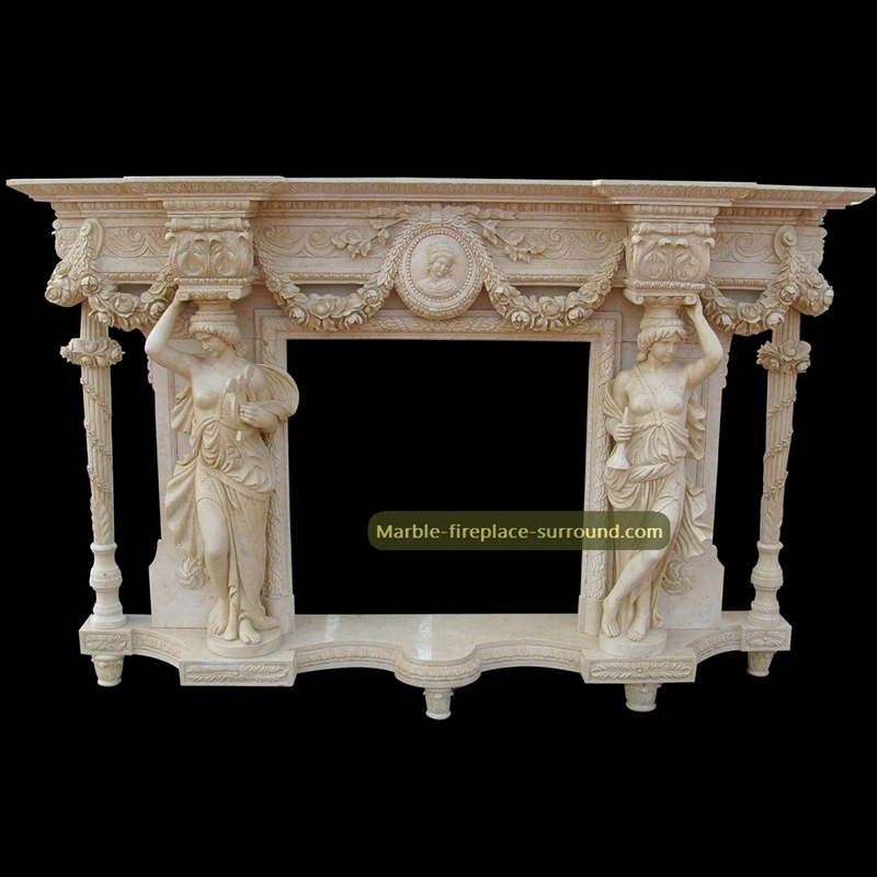marble fireplace mantel designs