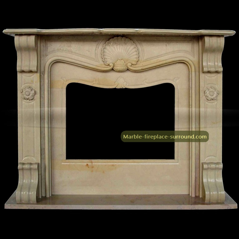 marble fireplace facing