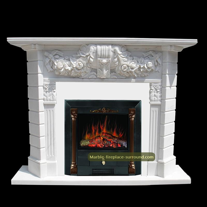 contemporary marble fireplace mantels