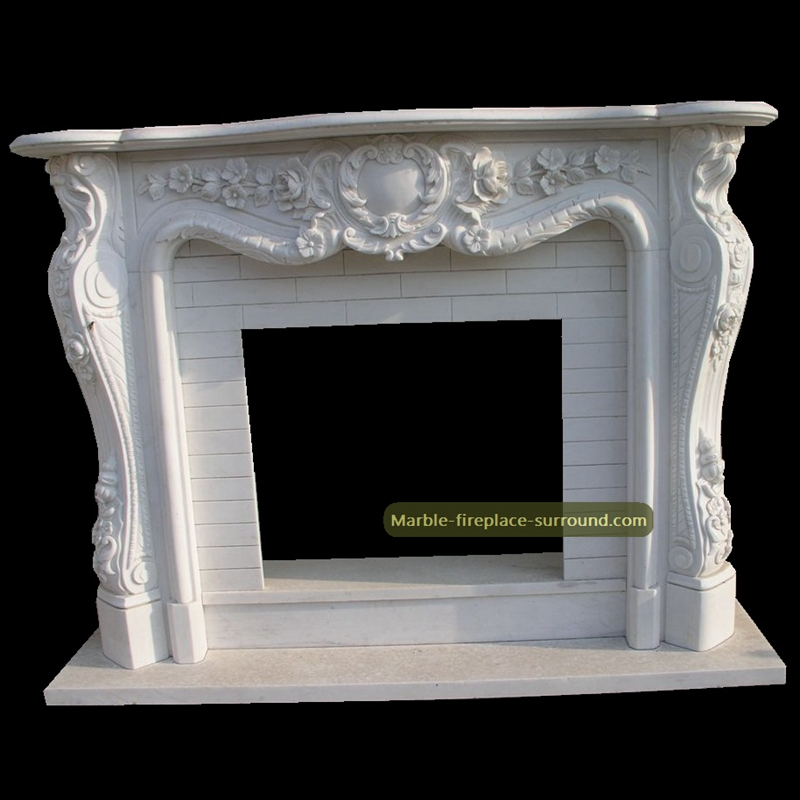 floral marble mantels