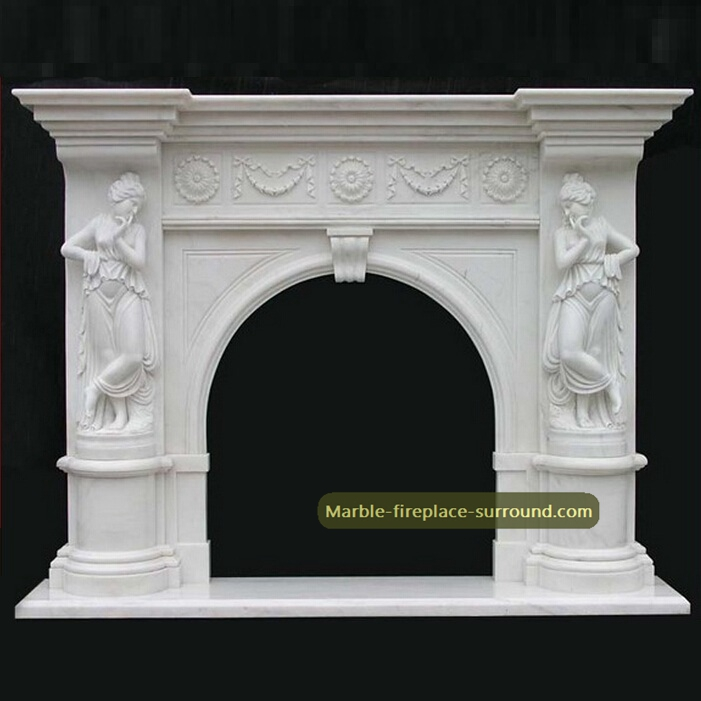 french fireplace mantels