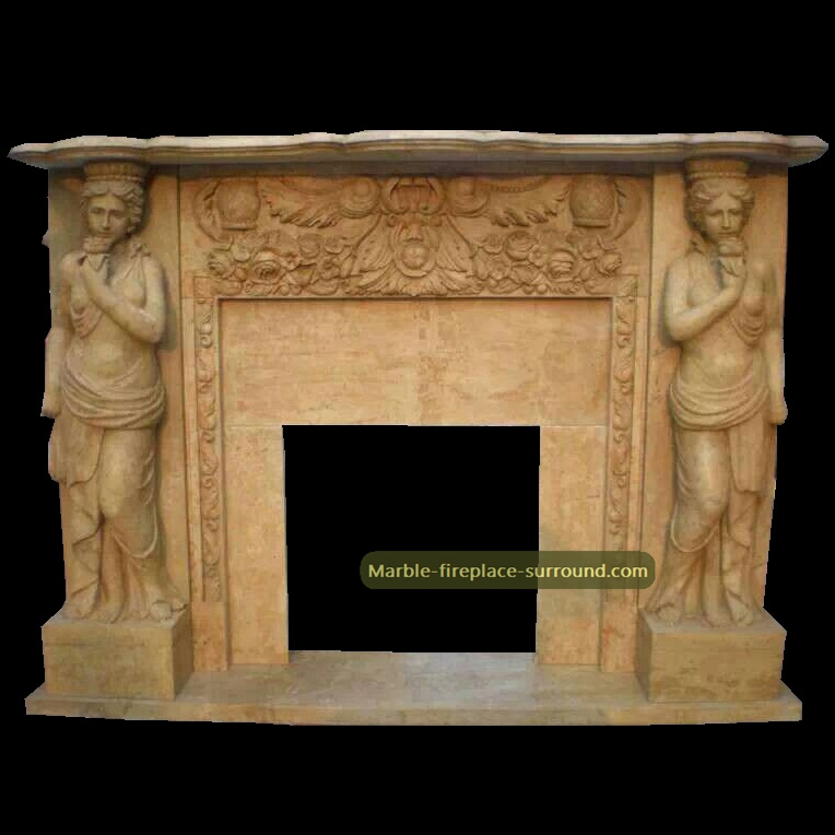 remove fireplace mantel